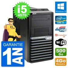 PC Tour Acer Veriton M4630G Intel i5-4570 RAM 4Go Disque 500Go Windows 10 Wifi