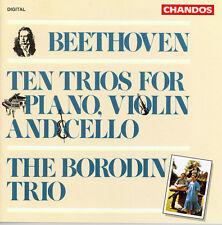 Borodin Trio, Ludwig - Ten Trios for Violin Piano & Cello [New CD]