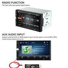 "7"" 2 Din 1080P Car MP5 Player Bluetooth Radio Multimedia USB/TF Port US Deliver"
