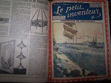 LE PETIT INVENTEUR  1923/25 du N° 1  AU N° 127 TBE (EO  Albin Michel) 2 volumes