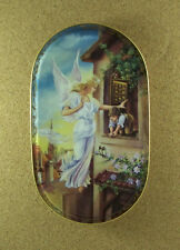 Guardian Angel German Plate HELPING HANDS ON HIGH Someone to Watch Over Me