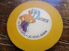 XXXX Very Rare Dunes RLT Las Vgas Casino Chip Yellow