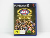 AFL Premiership 2006 Playstation 2 PS2 Game Complete PAL
