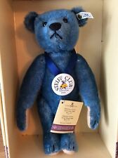 STEIFF BLUE CLUB BEAR 1994 1908 REP LIM ED VGC WITH CERT AND BOX EAN 420847