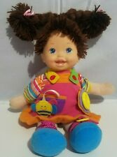 Teach Me To Dress Learning Doll Cititoy Girl Brown Hair Violet Eyes 2012