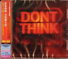 THE CHEMICAL BROTHERS-DON'T THINK -LIVE AT JAPAN--JAPAN CD+DVD Ltd/Ed F04