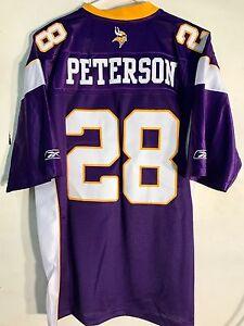 Reebok Premier NFL Jersey Vikings Adrian Peterson Purple sz 2X