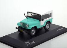 Jeep Cj-5 Année de construction 1963 chaux / Blanc 1 43 Whitebox