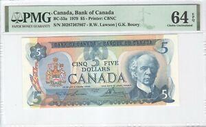Canada 5 Dollars 1979 P-92a PMG 64 EPQ