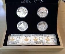 Canada 2015 Sportfish North America 4 Coin $20  Proof Set /Subscription Box