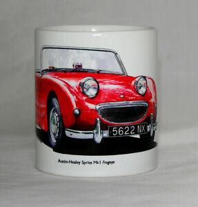 Classic Car Mug. Austin-Healey Sprite Mk1 Frogeye