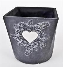 Vasi quadrato in ceramica per la decorazione della casa