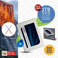 """MacBook Pro, Mac Mini:: 1 TB 2.5"""", avviabile SSD (Solid State Drive) Plug n Play"""