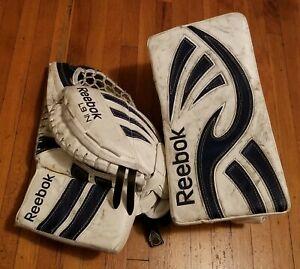 Aislar amargo Intermedio  Reebok Hockey Goalie Gloves & Blockers for sale | eBay