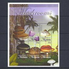 MICRONESIA MUSROOMS CHAMPIGNONS souvenir sheet VF MNH