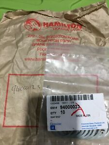 GM Circlips X 10 P/N 94000023   GM Nos
