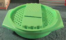 Tupperware 786 - 4 Cheese Grater Shredder Bowl Dish - Missing the lid