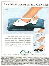 Publicité 1994  CLARKS chaussures sandalettes souliers pret à porter mode