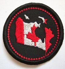 "Canada Merit Badge Mini 2"" Iron or Sew On Patch"