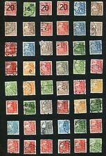Stamp Lot Of Denmark Caraval Ships, (5 Scans) Interesting Postmarks
