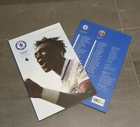 Chelsea v Sheffield United Premier League 31/08/19 Programme with teamsheet!!
