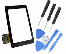 """Acer Iconia Tab A100 7 """" Touch Screen Digitizer Front Glass Panel + Tools Black"""