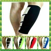 Unisex Sports Leg Calf Leg Brace Support Stretch Sleeve Compression Running Hot