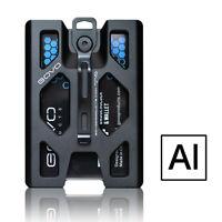 GOVO Badge Holder/Wallet-Aluminium Version_Black(Original seller )
