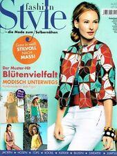 Fashion Style Mode Zum Selbernähen 05/2015 Nähheft