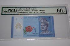 (PL) NEW SALES: RM 1 HK 9191919 PMG 66 EPQ RADAR ALMOST SOLID REPEATER UNC