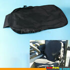 Black Canvas Equipment Seat Cover Low Back Fit for Backhoes Tractors UNIVERSAL