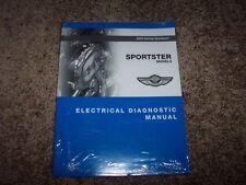 2003 Harley Davidson Sportster XL 883 1200 Electrical Wiring Diagram Manual Book