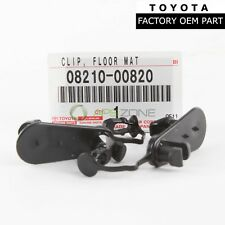 GENUINE TOYOTA 4RUNNER SCION LEXUS IS F FLOOR MAT CLIPS SET OF 2 OEM 0821100720