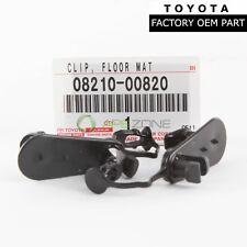 GENUINE TOYOTA 4RUNNER SCION LEXUS IS F FLOOR MAT CLIPS SET OF 2 OEM 0821100720