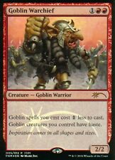 Goblin Warchief FOIL-versione 2 | NM | FNM PROMO | Magic MTG