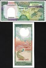 SRI LANKA 1000 1,000 RUPEES 01-01-1987  UNC P.101A