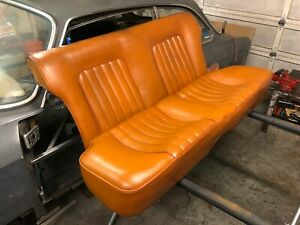 "1965 Alfa Romeo Sprint GT rear seat in ""leather"" skai - 105 series"