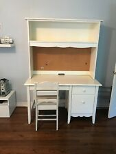 White wood desk, used, in good condition, 50 x 70 x 30, perfect summer project!