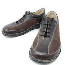Finn Comfort Hanoi Women's Oxfords 10.5 M 41 Brown 2 Tone Comfort Dress Shoes