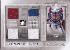 11-12 ITG Patrick Roy /9 Complete Jersey Enshrined Avalanche 2011