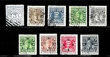 HICK GIRL- OLD USED INDIA  STATES COCHIN ANGHAL STAMPS            X5081