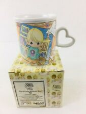 Nib Vtg 90s Precious Moments You're Loved Because. Dad Coffee Mug Fathers Day