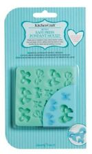 KITCHENCRAFT Easy Press Bows Fondant/Icing  Mould. Wedding/Love/Cakes/Biscuits.
