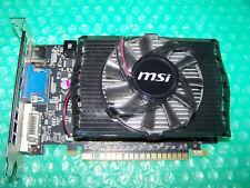 MSI GeForce GT 630 2GB 128-Bit DDR3 Tarjeta Gráfica PCIe 2.0 HDCP listo