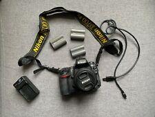 Nikon D700 Digital SLR Camera + Nikkor 18-55mm Lens, 3 Batteries, Charger