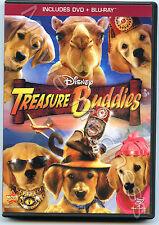 Treasure Buddies (Blu-ray/DVD, 2012, 2-Disc Set, DVD/Blu-ray) Like New