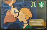 "Starbucks Zodiac Card, "" Gemini"" , China 2019                   (GG)"