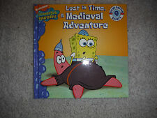 SpongeBob SquarePants: Lost in Time, a Medieval Adventure (hardcover, 2007)