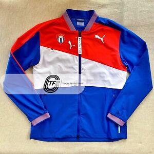 RARE! PUMA 2021 CUBA OLYMPIC Team Pro Elite Track and Field Jacket Tokyo 2020