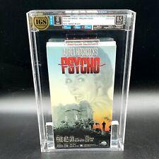 AWU - IGS 1991 Psycho MCA VHS Sealed graded Brand new 1960 movie